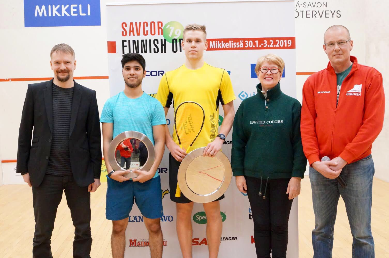 Open Sqaush Championship 2019